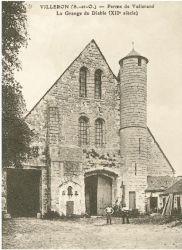 Ancienne carte postale de la Ferme de Vollerand